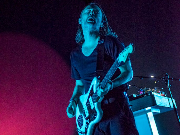 Radiohead's Thom Yorke performs a solo show at the Riverside Theater on Dec. 5, 2018.