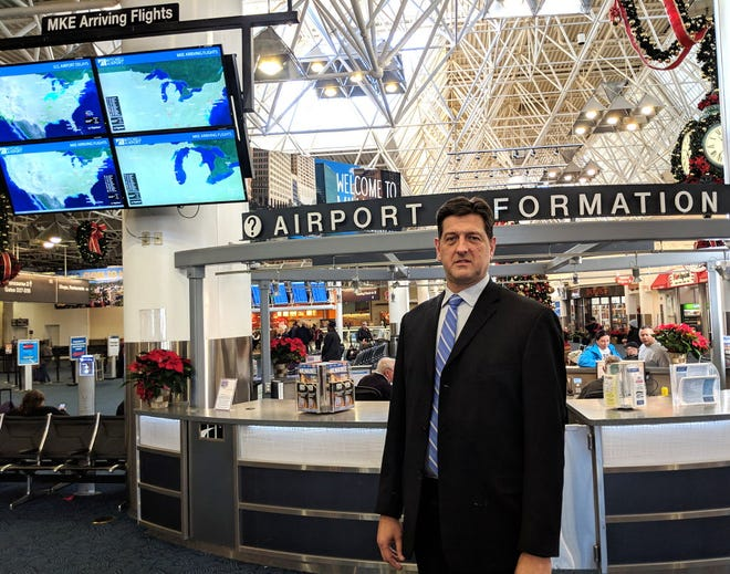 Brian Dranzik serves multiple stakeholders as the director of Milwaukee's General Mitchell International Airport.