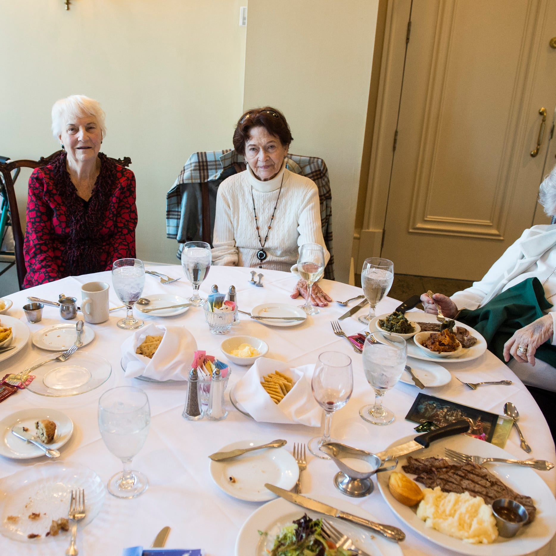 Bless their hearts: 70 years later, these golden girls still sparkle