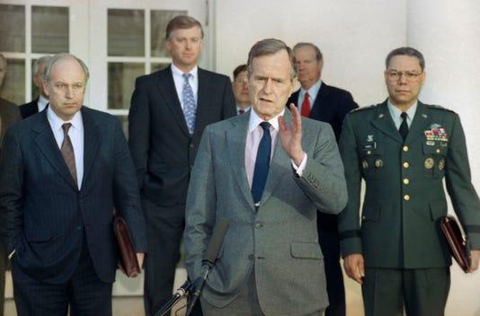 George H W Bush Dick Cheney Dan Quayle