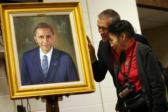 0219 News Obama Painting