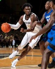 Vanderbilt freshman Simi Shittu is an NBA draft prospect.