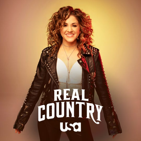 "Nashville singer-songwriter Jamie Floyd finished fourth on USA Network singing contest ""Real Country."""