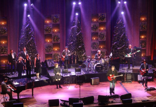 """Amy Grant and Vince Gill perform Dec. 5, 2018, as part of their """"12 Days of Christmasat the Ryman"""" residency. The unprecedented series of shows ends Dec. 23."""