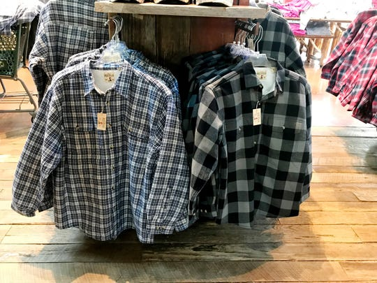 These warm sherpa lined flannel shirts are a popular item at $19.97 at Bass Pro Shops.