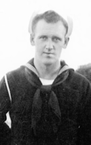 U.S. Navy Seaman 2nd Class William Campbell, of Elizabethton, Tenn. was aboard USS Oklahoma when the Japanese attacked Pearl Harbor on Dec. 7, 1941.