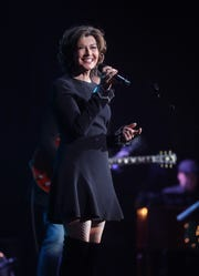 "Amy Grant performs as part of her and husband Vince Gill's ""12 Days of Christmas at the Ryman"" on Dec. 5, 2018. Grant has been a face of Nashville Christmas celebrations for decades."