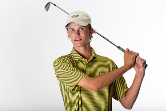 James Tureskis, Naples High School, boys golf, junior