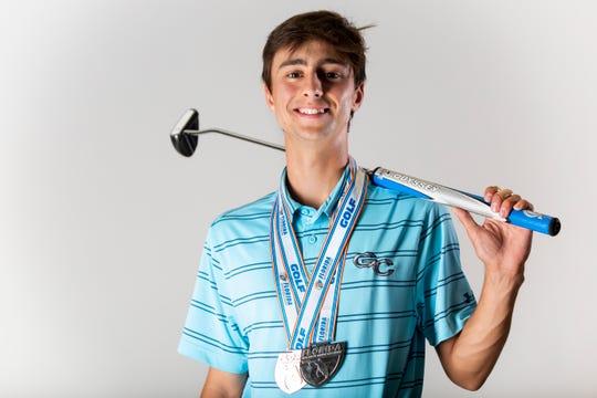 Rémi Chartier, Golf Coast High School, boys golf, senior