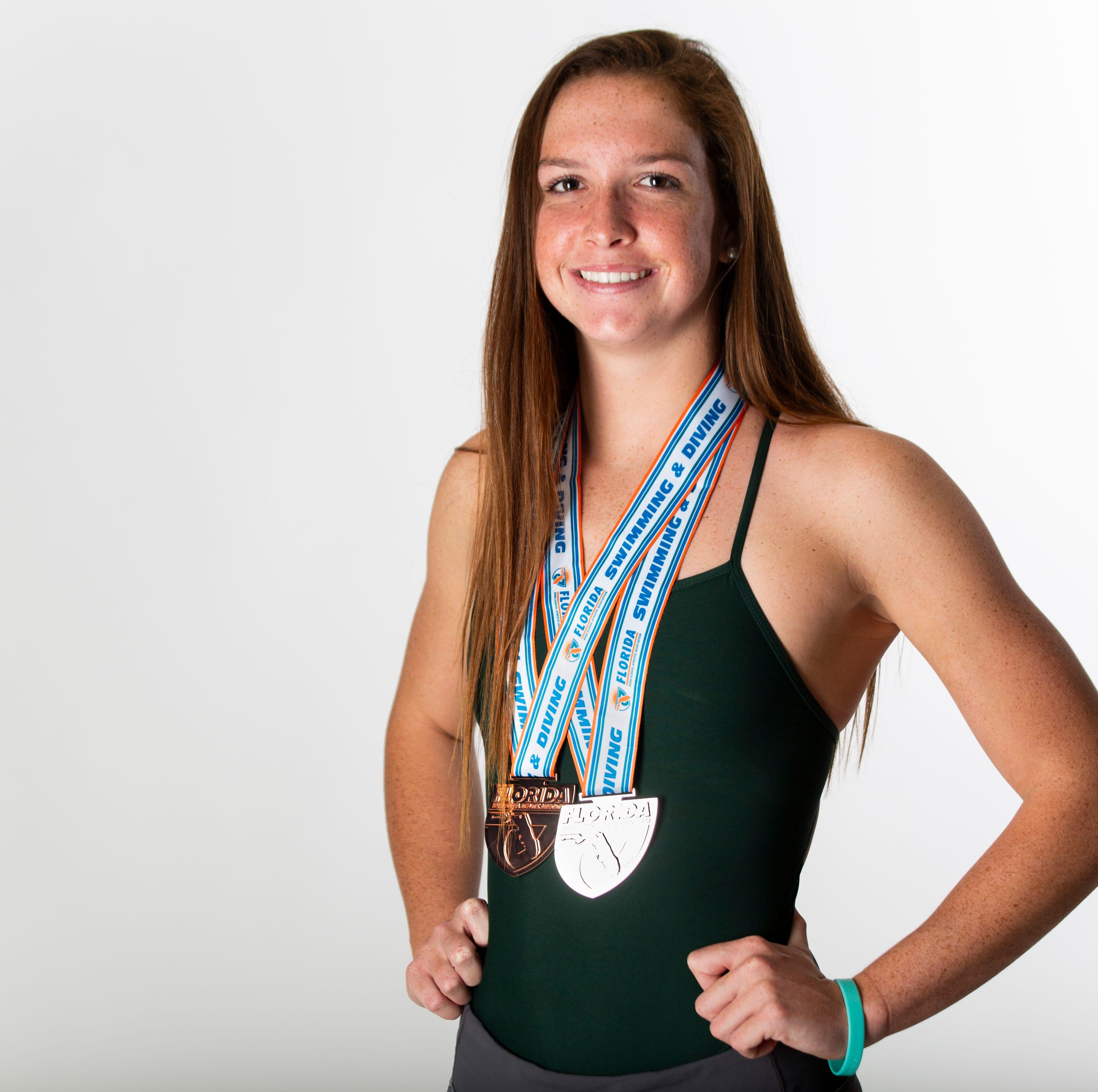 Marco resident Maddy Burt will swim for Arizona in college