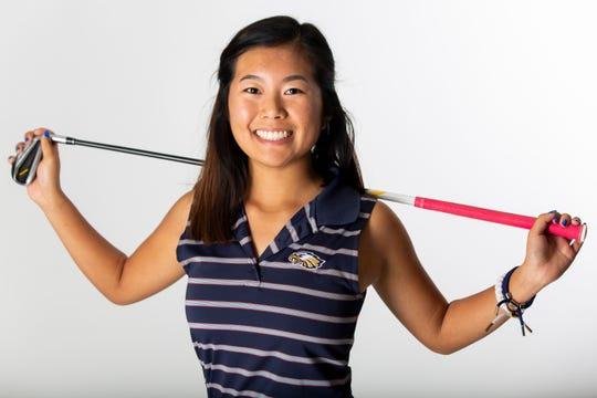 Vivian Guite, Naples High School, girls golf, junior