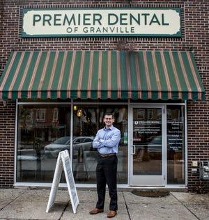 Mark Alexandrunas of Premier Dental in Granville.