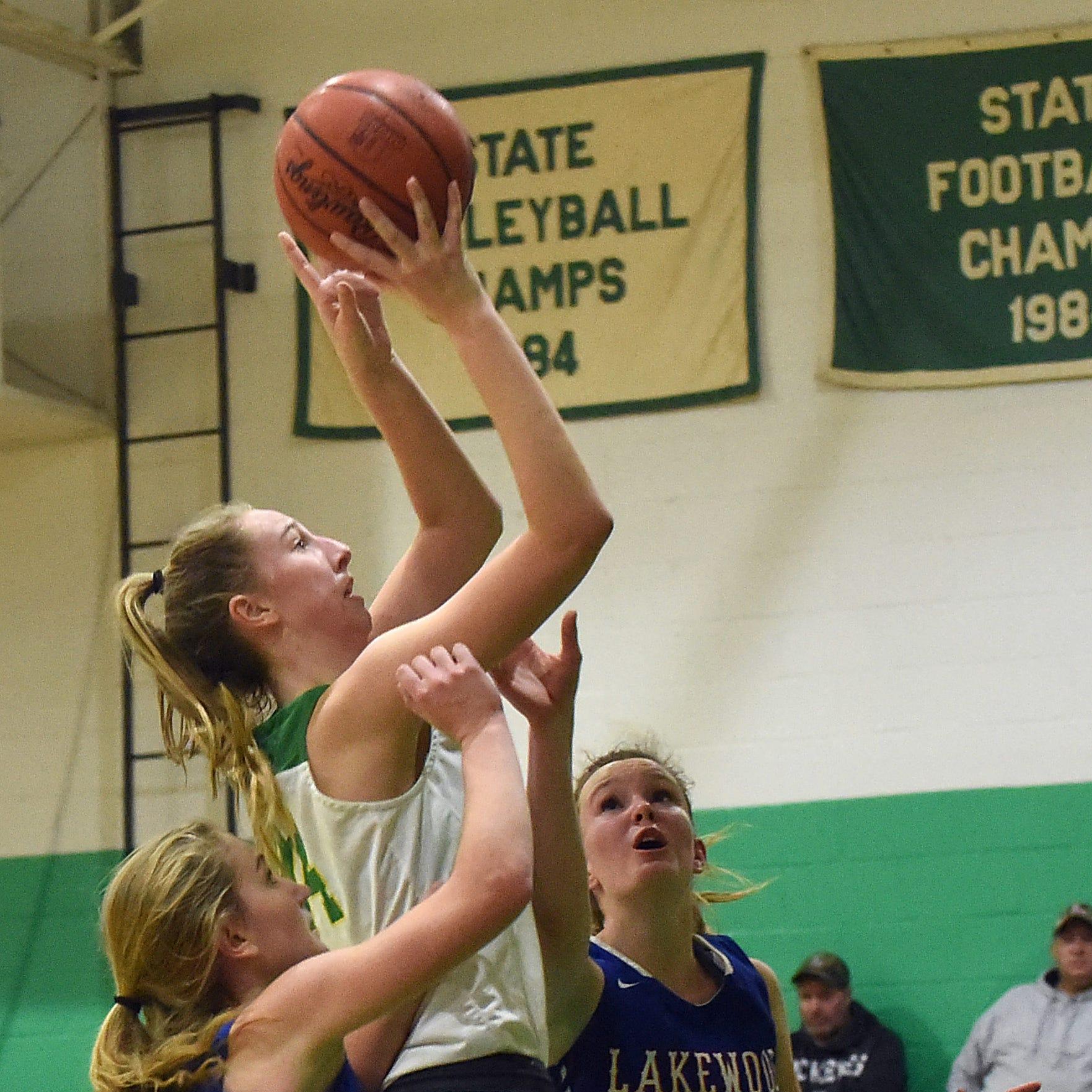 Newark Catholic girls lean on defense in Lakewood win