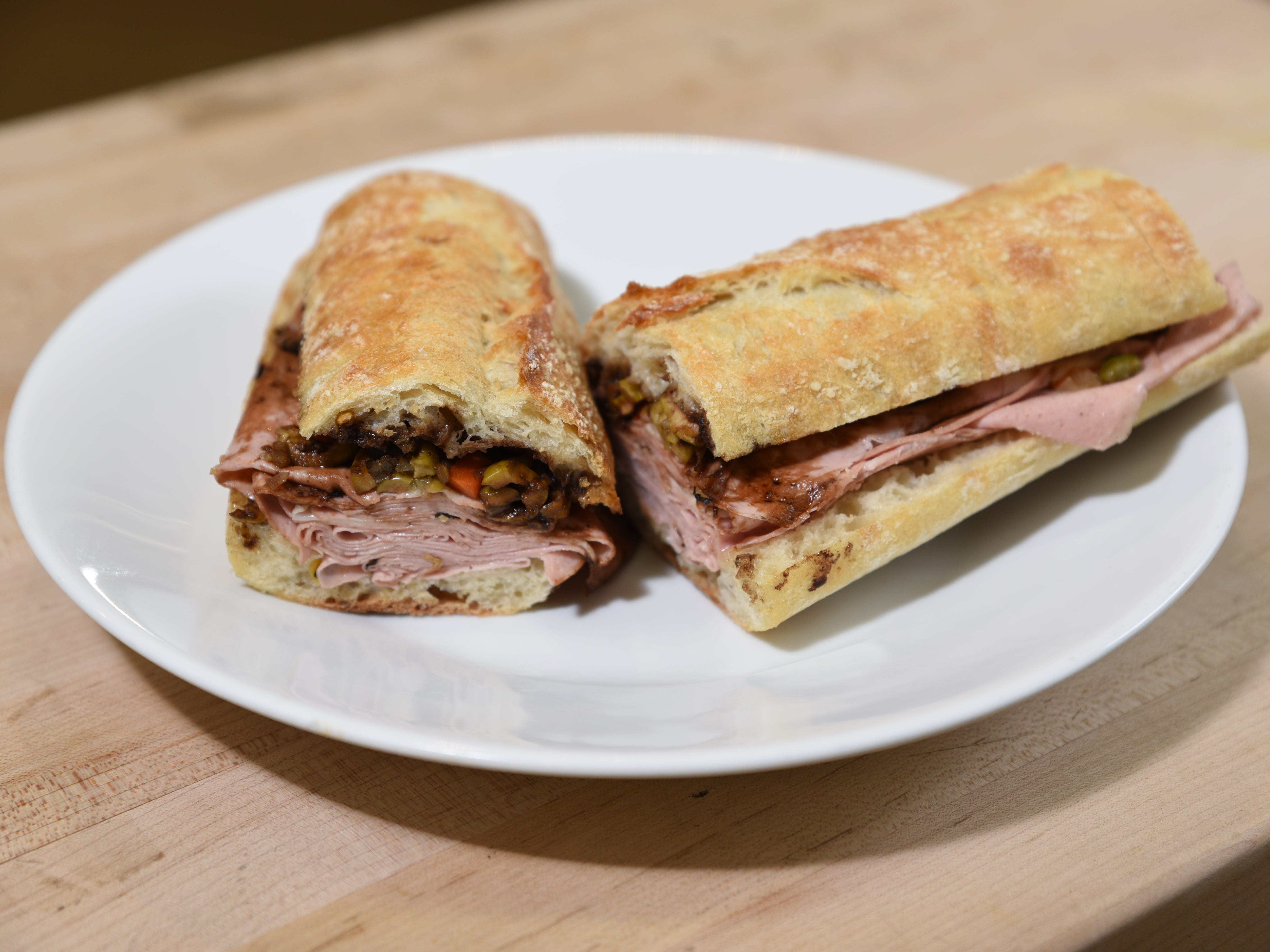 The Italian Stallion sandwich at Super Cellars in Ridgewood