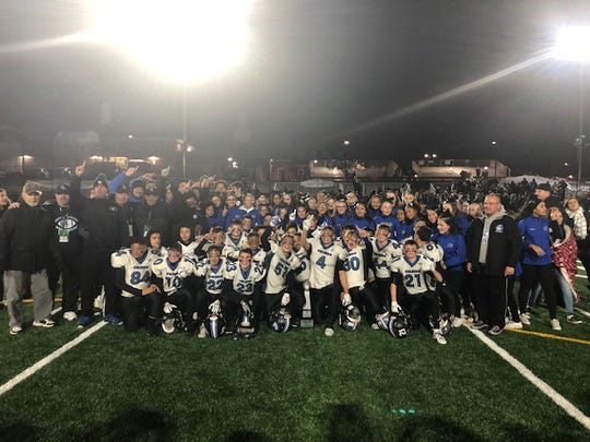 The North Arlington Junior Vikings senior team wonthe 2018 Meadowlands Football League Super Bowl and finished the season 11-0.