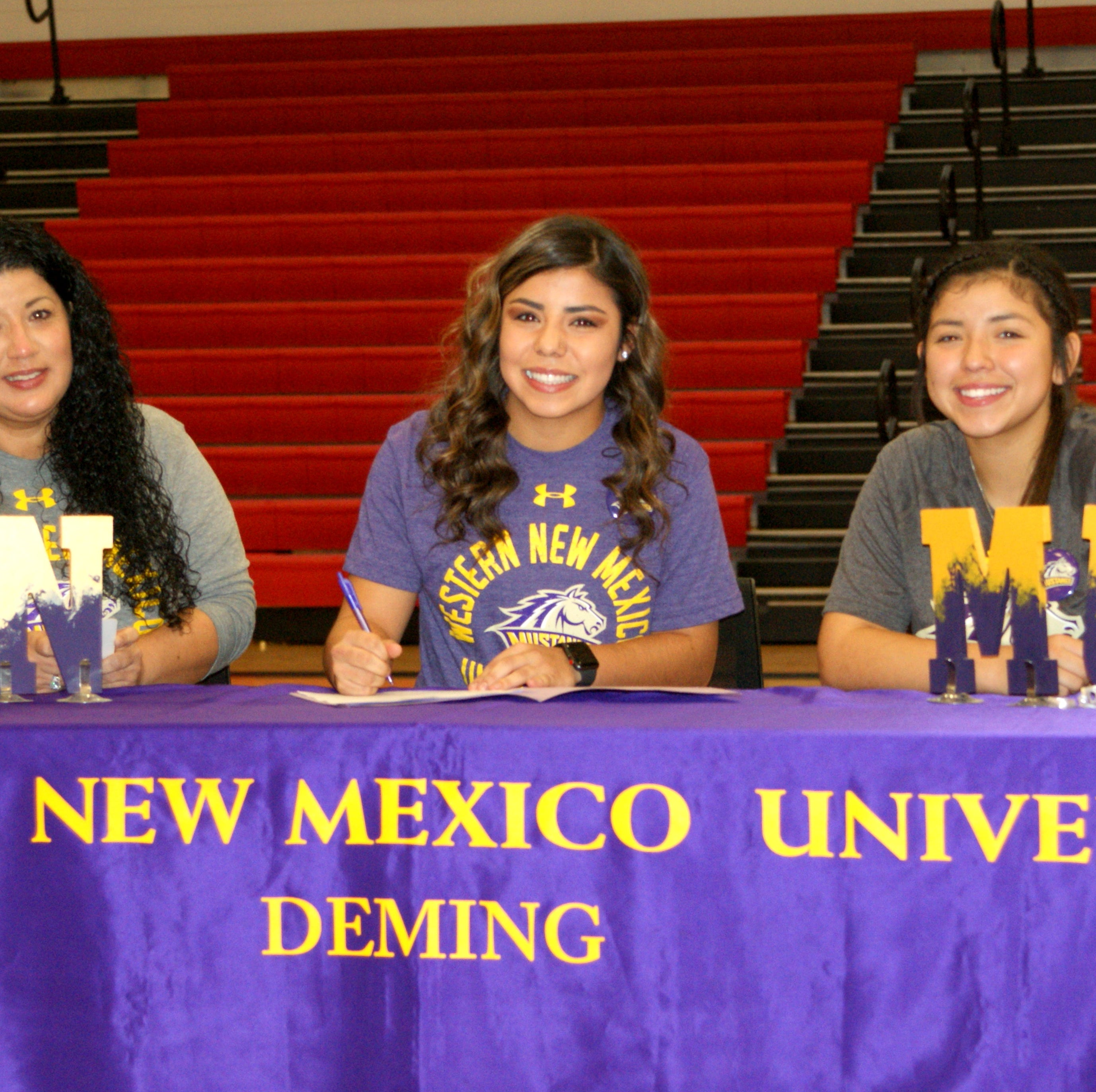 Mireya Trujillo commits to WNMU for a chance to play softball with the Mustangs