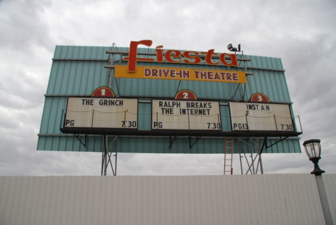 The Fiesta Drive-In Theater is closing Sunday following the sale of the property by owner Sidney Light.