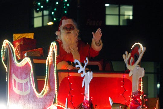 Santa Clause is expected to make an appearance at Alamogordo's Parade of Lights Saturday.