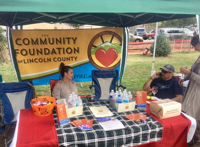 The foundation operated a booth during a recent community event to spread the word.