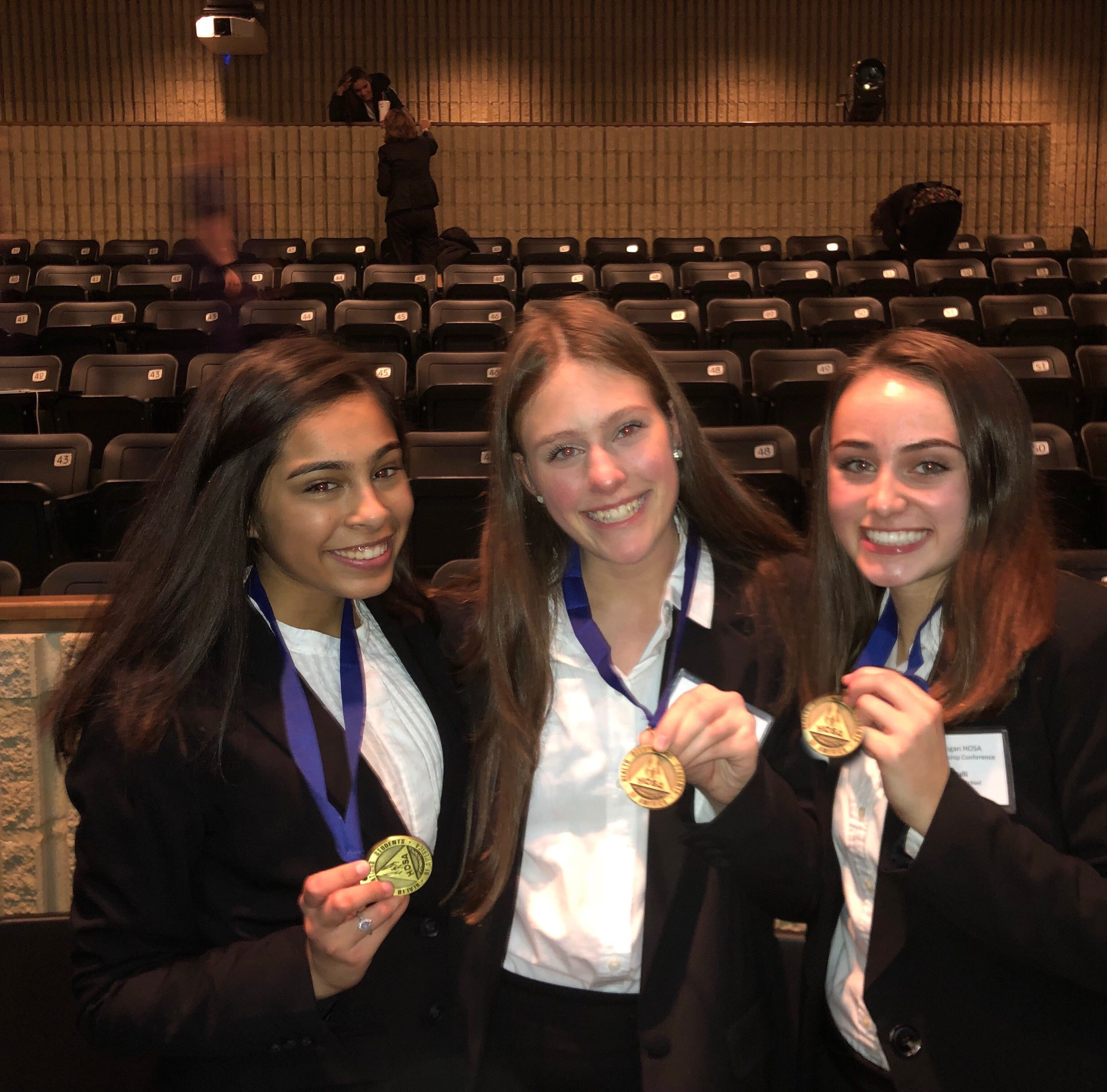 Students' suicide awareness presentation wins HOSA regional competition