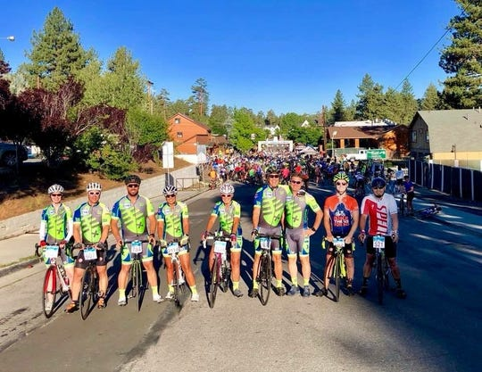 Members of the Salton Sea Triathlon Club competed recently in an event in Big Bear.