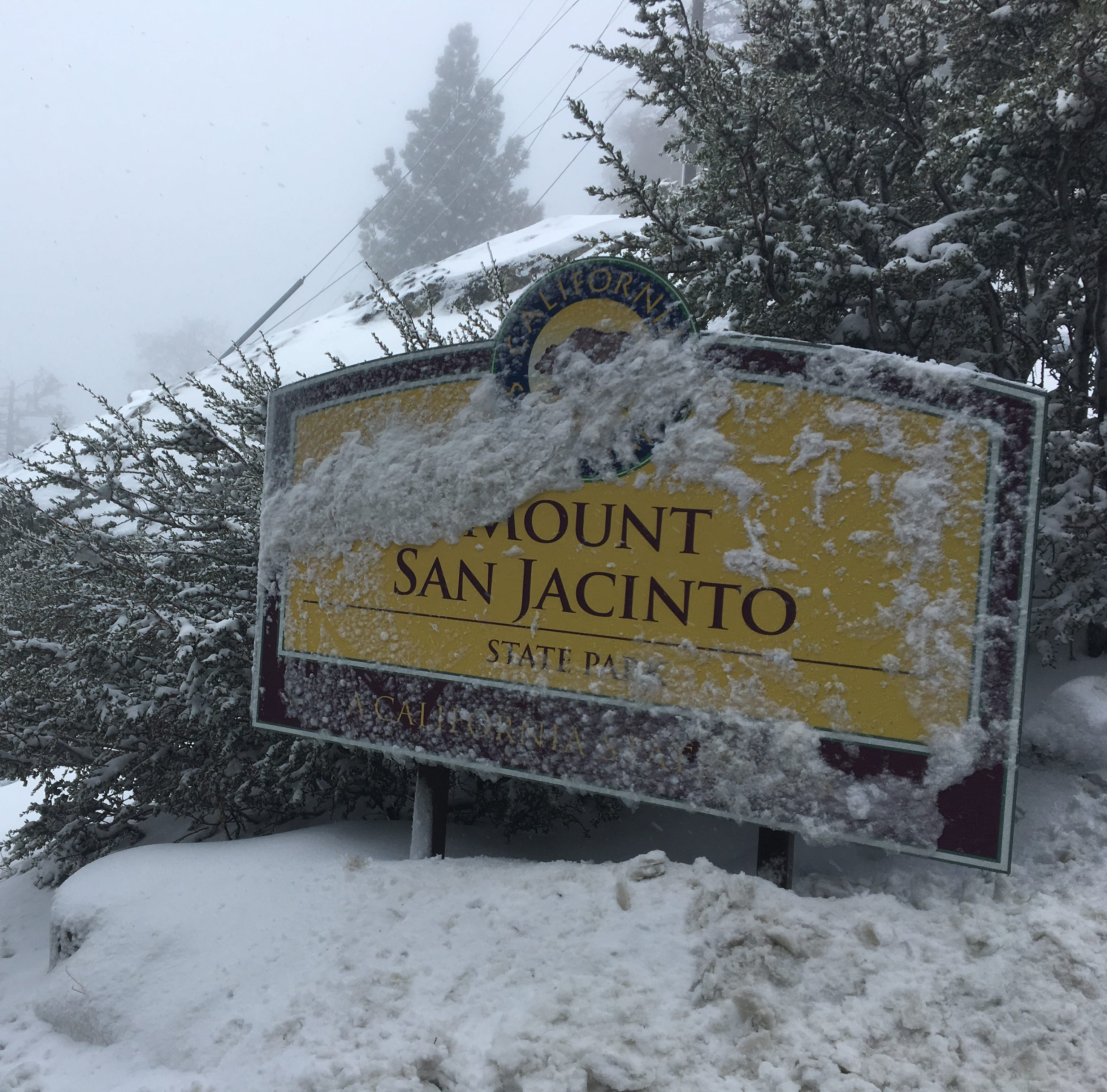 5 inches of snow or more at highest elevations expected by early Wednesday, forecasters say