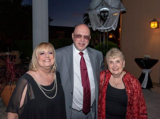 From left: Marci Iglow, Peter and Judi Wasserman