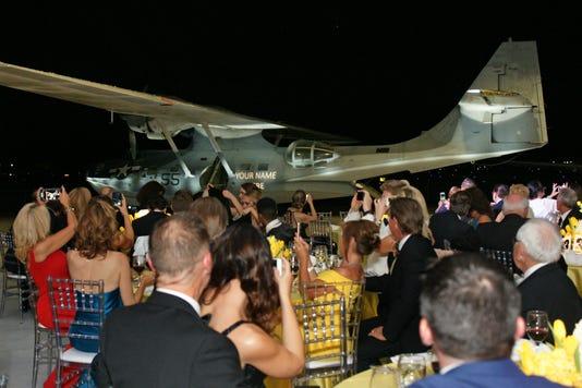 Dsc00868 Plane At Gala Dinner