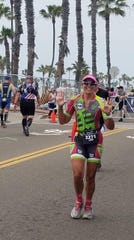 Lori Rudy of the Salton Sea Triathlon Club will compete in the Ironman 70.3 Indian Wells La Quinta event this weekend