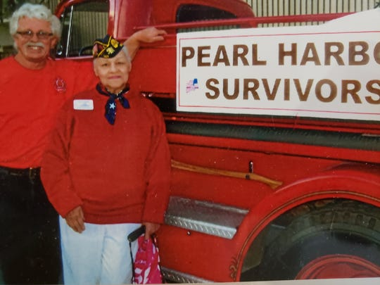 On Veterans Day 2018, there were no Pearl Harbor Survivors left in the Palm Springs chapter to ride in the city's parade. The last member, Leo Priest, passed away recently. Lita Bowman, now 91, said she's trying to keep the memory of Pearl Harbor alive for the next generation.