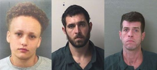 Desiree Tedder, James Greenwood and Gregory Taylor are all charged in three separate first degree murder cases that are slated for trial the week of Dec. 10.