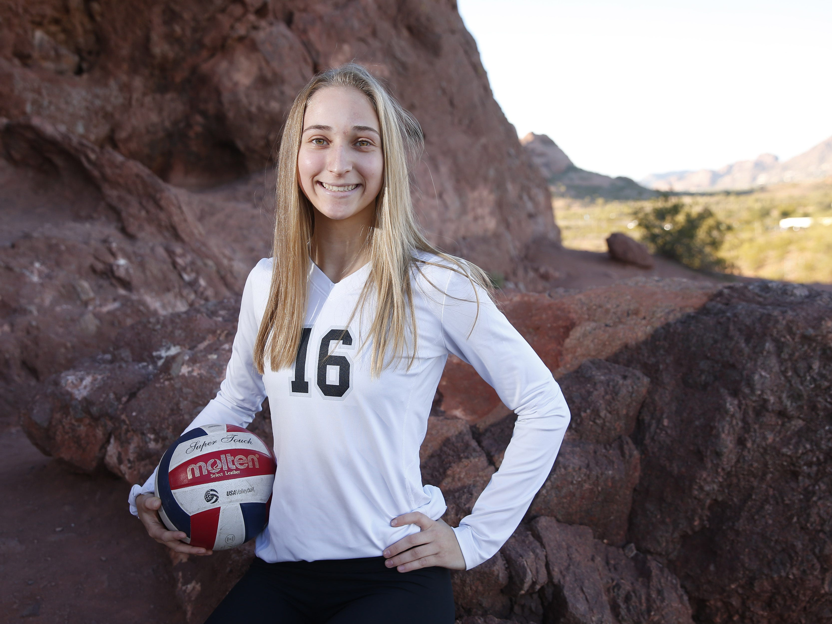 Nicole Hoff of Millennium is a finalist for the azcentral Sports Awards Girls High School Volleyball of the Year. #azcsportsawards