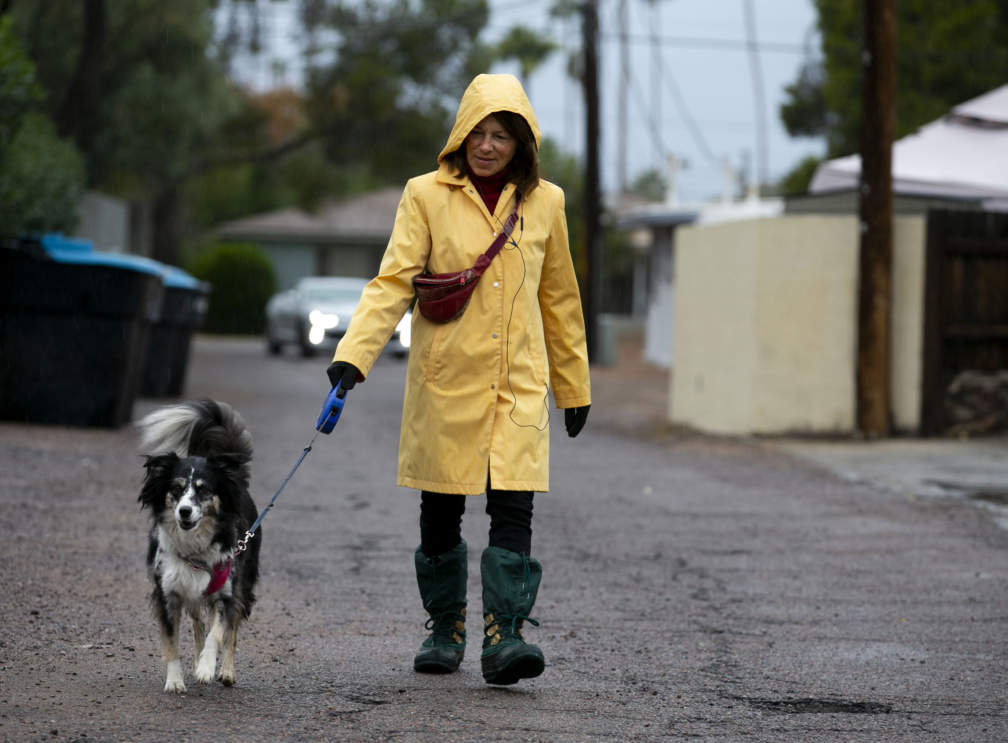 Pacific storm brings snow to Flagstaff, light rain in Phoenix area