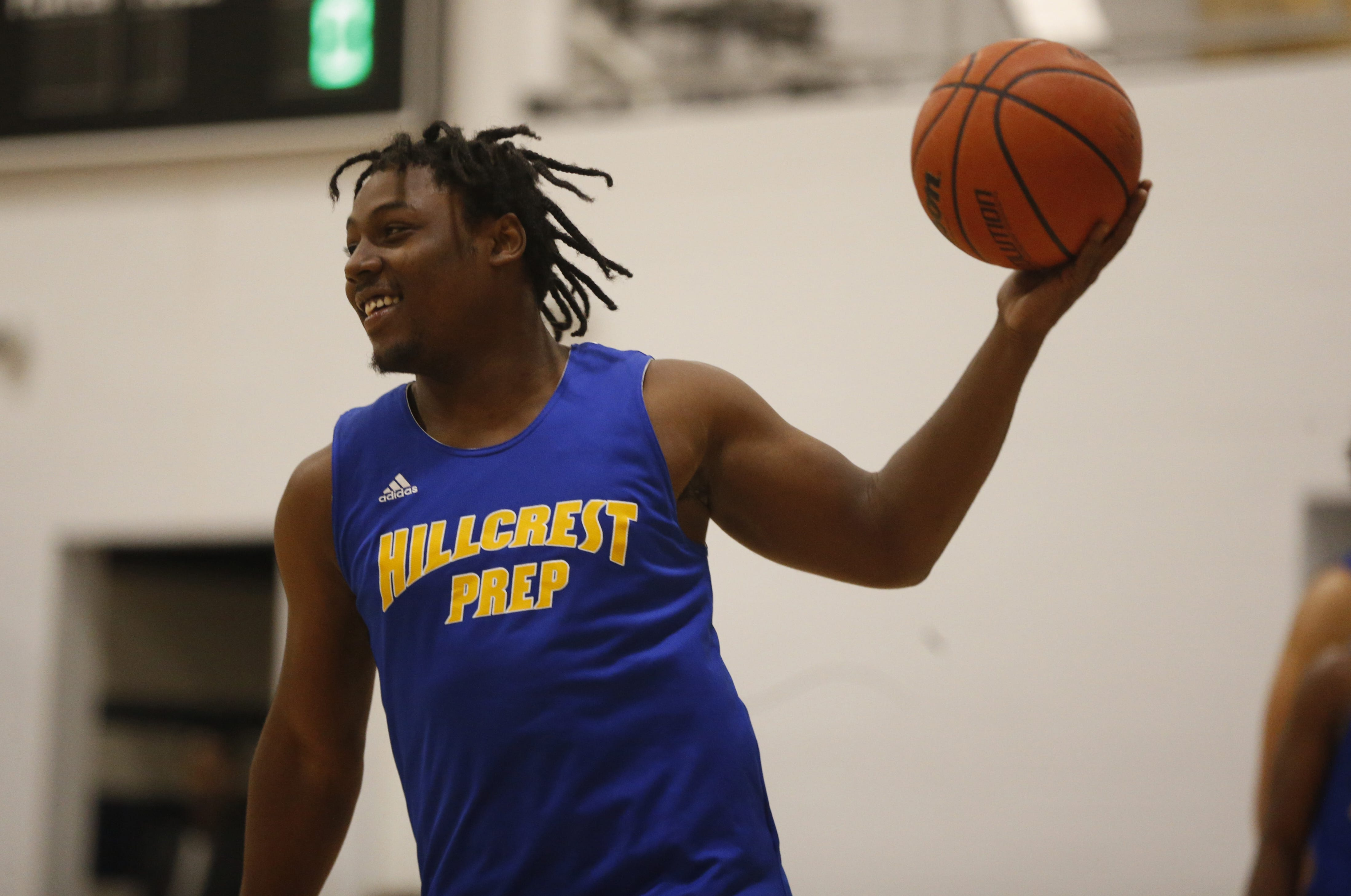 Michael Rogers' long, winding basketball road takes him to Hillcrest Prep North