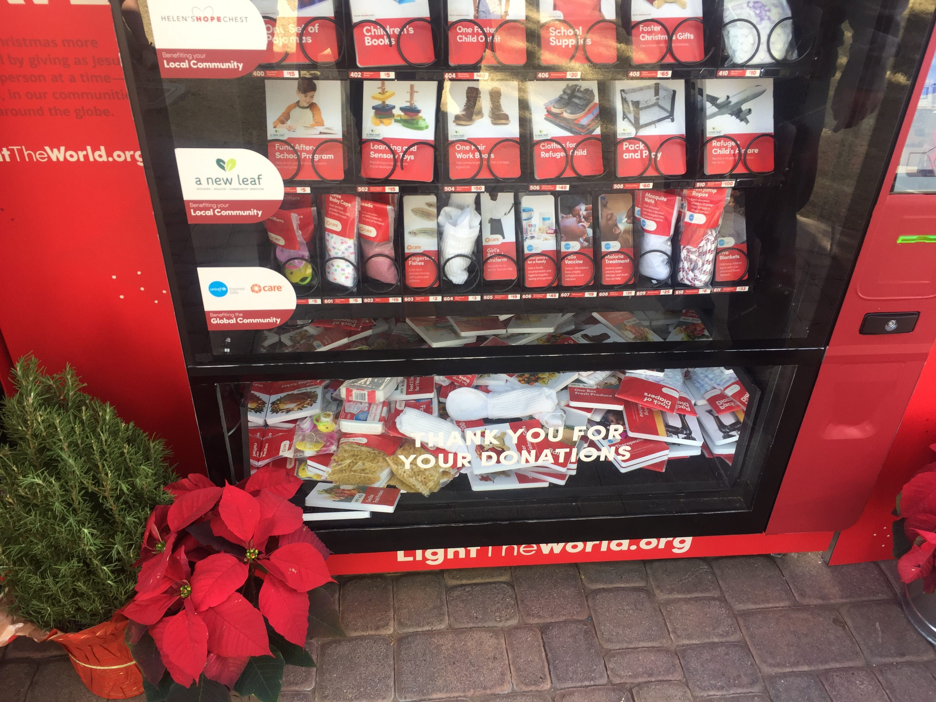 These vending machines in Gilbert provide an instant way to help others