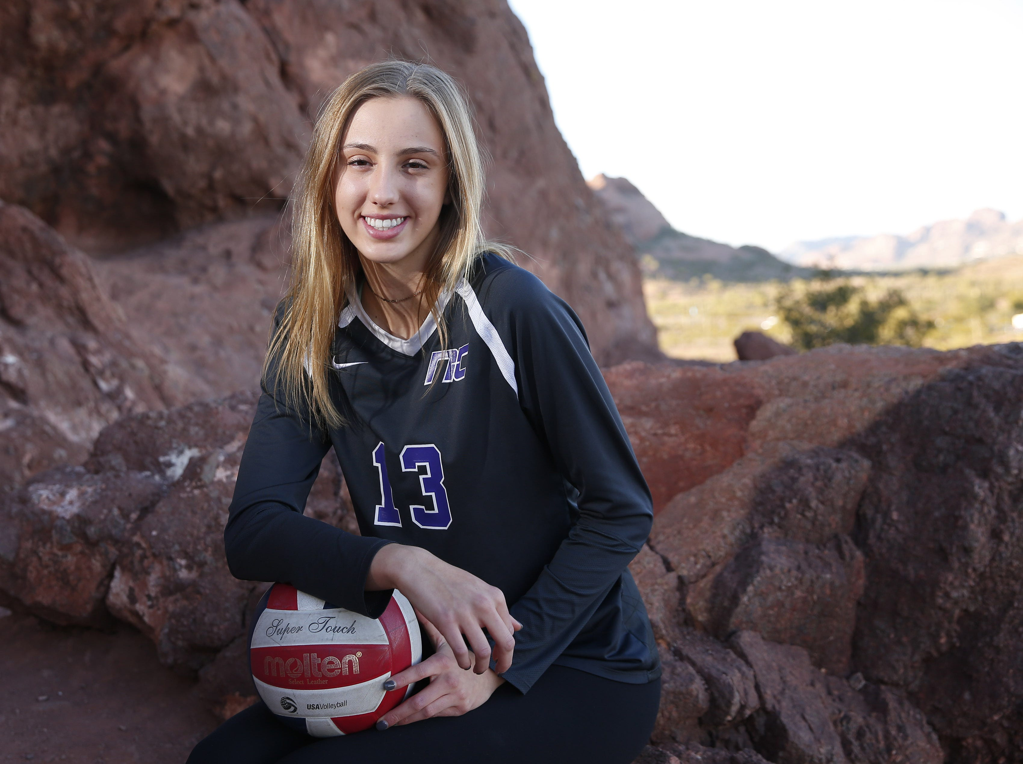 Reagan Hope of Northwest Christian is a finalist for the azcentral Sports Awards Girls High School Volleyball of the Year. #azcsportsawards