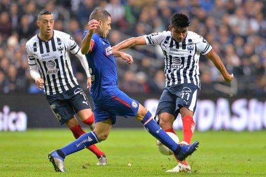 Monterrey tomó ventaja 1-0 en la ida de la semifinal.
