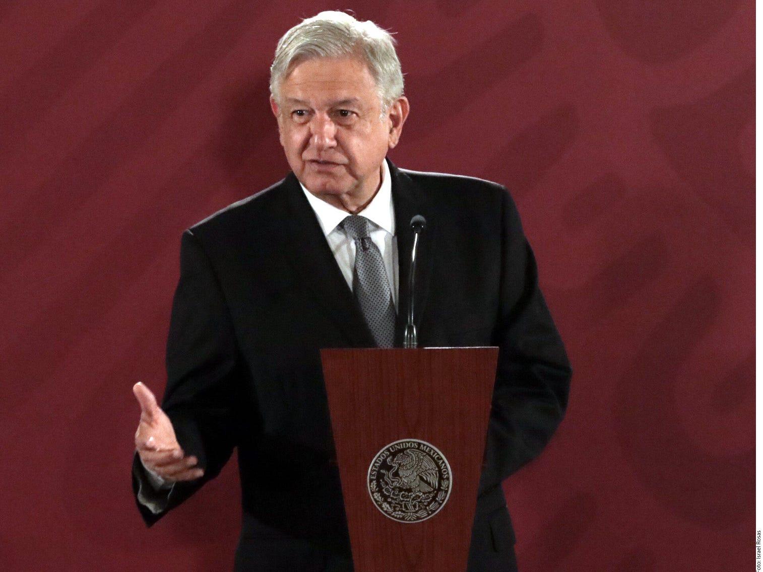 Presidente de México dice tener buena relación con Trump