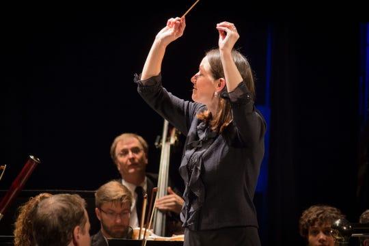 Conductor Christine Howlett