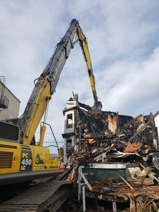 61 Academy St Demolition