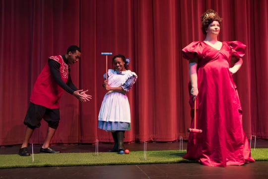 "York College Division of Theatre presents ""Alice in Wonderland"" on Dec. 8."