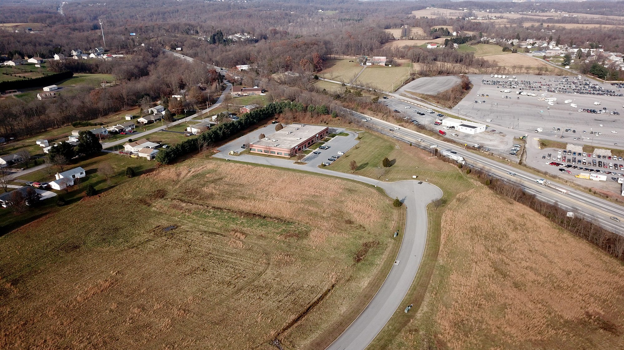 Plan for new warehouse in Conewago Twp. would require rerouting Exit 28
