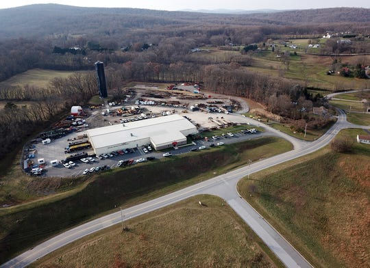 Conewago Township is weighing  a proposal to build a new warehouse in the area of Cloverleaf Road that would lead to the creation of a new exit and rerouting the southbound I83 exit, Thursday, December 6, 2018.John A. Pavoncello photo