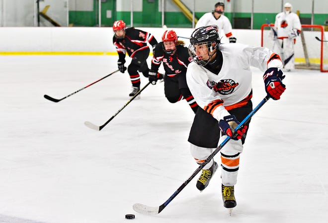 Central York's Sean Barba, seen here in a file photo, scored a goal on Wednesday night in a 3-2 loss to Cedar Crest. DISPATCH FILE PHOTO