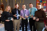 """On December 6, 2018, The York School District celebrated """"Shining Star"""" teachers by honoring those who are making a difference in their schools."""