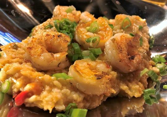 The shrimp jambalaya at Collusion Tap Works. The new menu begins Friday, Dec. 14