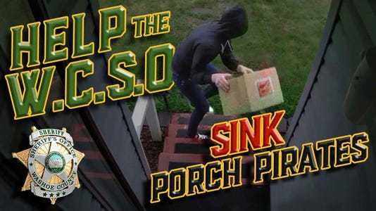 Wcso Porch Pirates