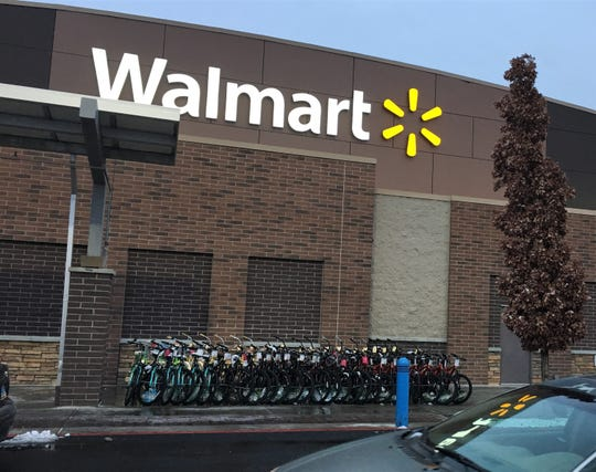 """The Walmart on East Second Street in Reno, site of a """"secret Santa"""" payoff that cleared $46,000 layaway tabs on Dec. 4, 2018."""