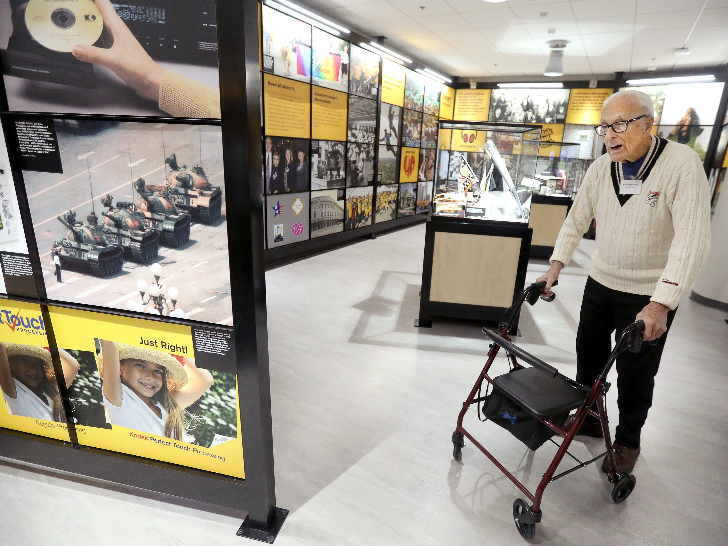 Lost Coloramas exhibit opens Kodak visitors center