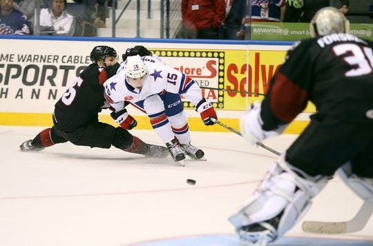 The Rochester Amerks have two home games coming up: against the Lake Erie Monsters Friday, Dec. 14, and the Belleville Senators Wednesday, Dec. 19.